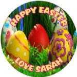 Personalised Easter Sticker Design 9